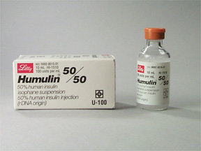Humulin 50/50- Eli Lilly and Co.
