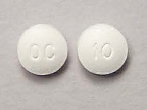 Hydroxyzine Hydrochloride Oral Tablet 10Mg Drug Medication Dosage ...